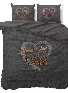 Dreamhouse Bedding Show Me Love - Antraciet
