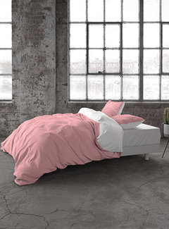 Dreamhouse Bedding Two Tone - Roze/Wit