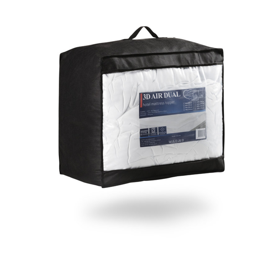 Oplegmatras - 3D AIR Hotel - 180x210 cm