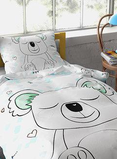 Dreamhouse Bedding Sleepy Koala - Wit