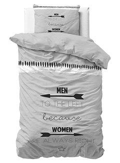 Dreamhouse Bedding Women Always Right - Grijs