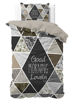 Dreamhouse Bedding Crazy Morning - Taupe