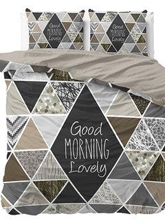 Dreamhouse Bedding Crazy Morning - Taupe