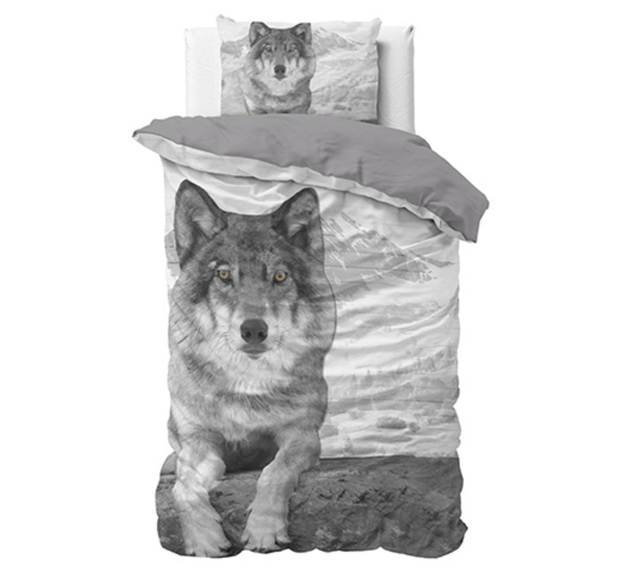 Wolf Nature - Grijs