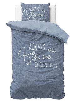 Dreamhouse Bedding Always Kiss Me - Blauw