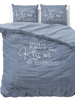 Dreamhouse Bedding Always Kiss Me - Blauw