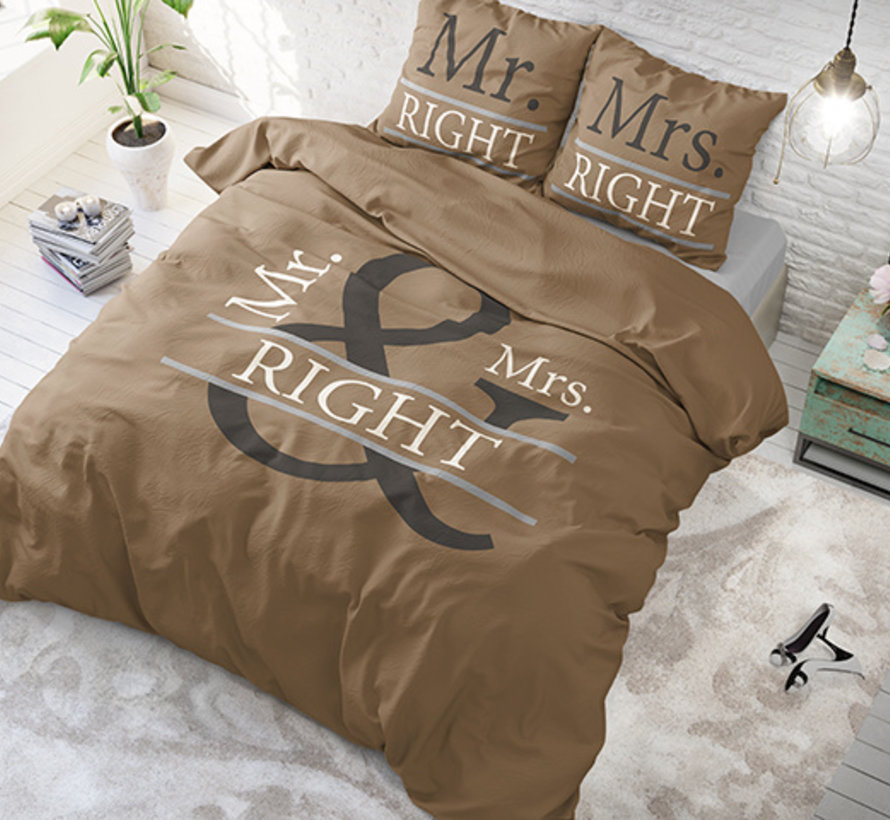 Mr and Mrs Right 2 - Taupe