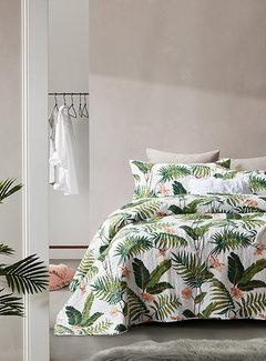 Dreamhouse Bedding Bedsprei - Botanical - Wit