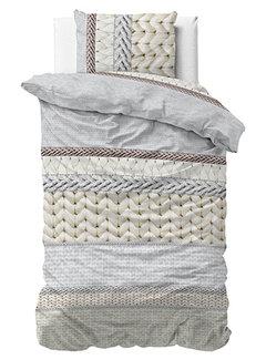 Dreamhouse Bedding Knitty - Flanel - Creme