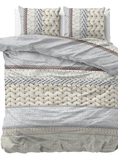 Dreamhouse Bedding Knitty - Flanel - Creme