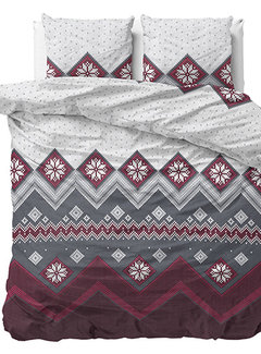 Dreamhouse Bedding Nordic - Flanel - Rood
