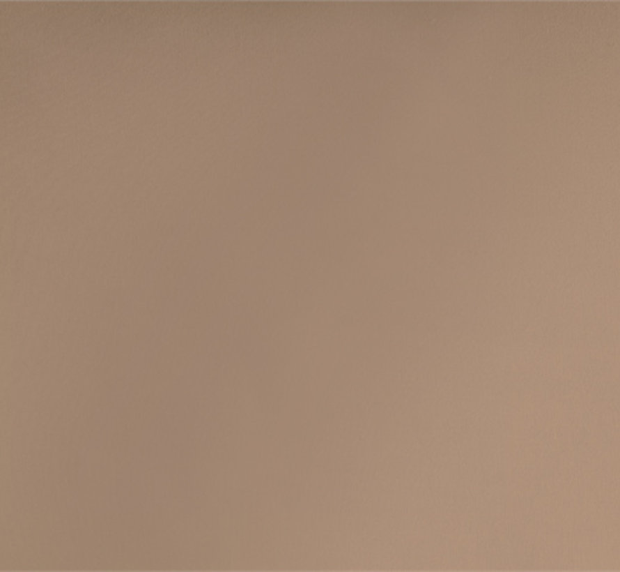 Splittopper Hoeslaken Katoen - Verkoelend - Taupe