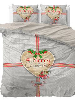 Dreamhouse Bedding Merry Christmas - Grijs