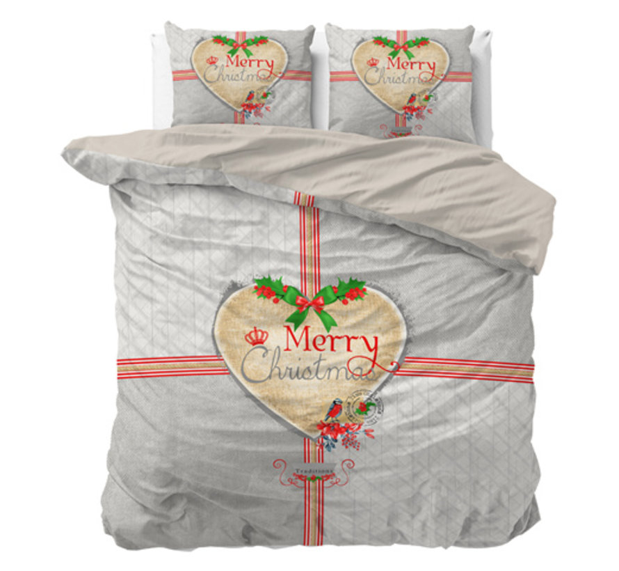 Merry Christmas - Grijs