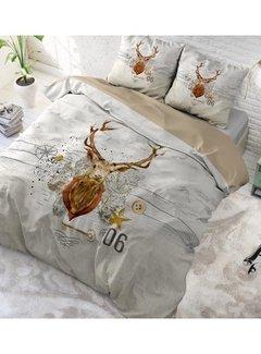 Dreamhouse Bedding Christmas Deer - Taupe