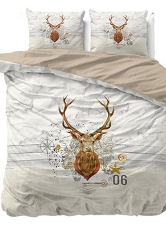 Dreamhouse Bedding Christmas Deer - Taupe