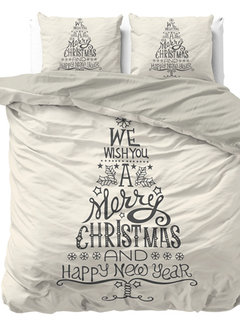 Dreamhouse Bedding We Wish You - Wit