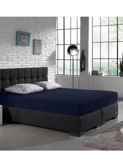 Dreamhouse Hoeslaken Jersey 135gr Stretch - Indigo Blauw