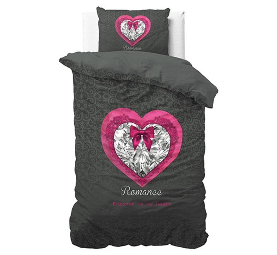 Romance Heart - Antraciet