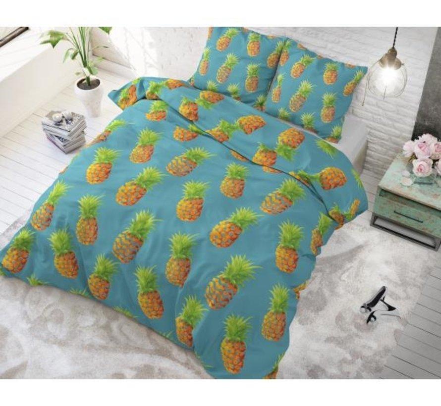 Pineapples - Blauw