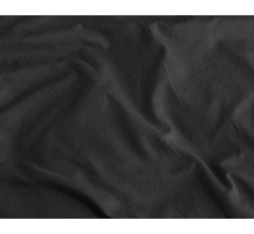 2-Pack: Kussenslopen - Satijn - Zwart