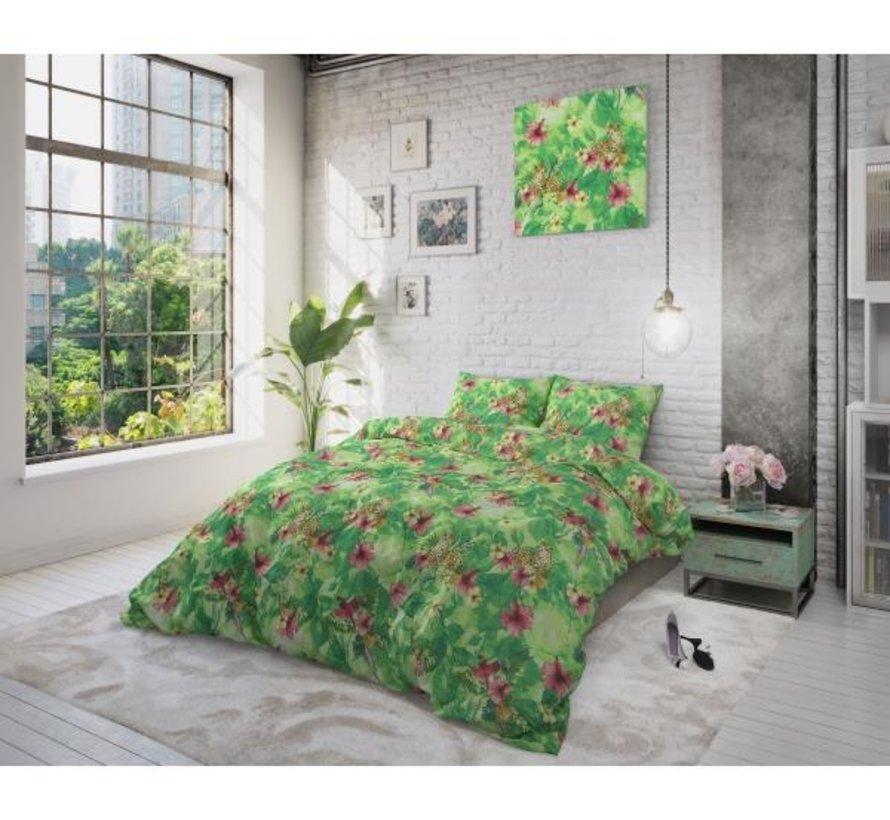 Dreamy Leopard - Groen