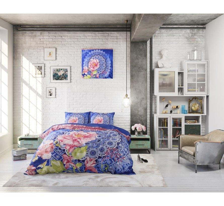 Aisha - Blauw/Roze