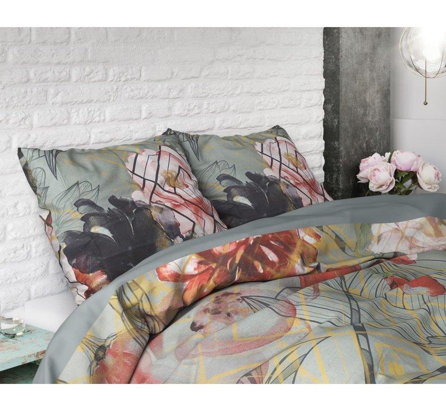 Marble Art Deco - Grijs/Groen