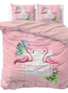 Dreamhouse Bedding Sunny Flamingo's - Roze