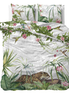 Dreamhouse Bedding Exotic Panther - Groen