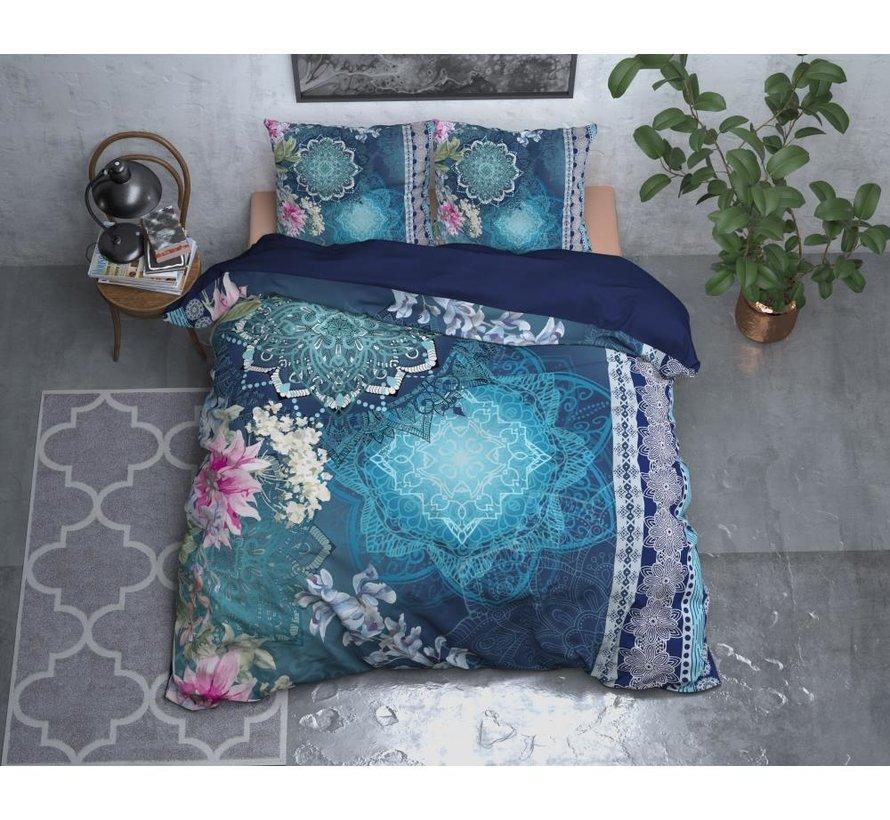 Luna - Flanel - Blauw