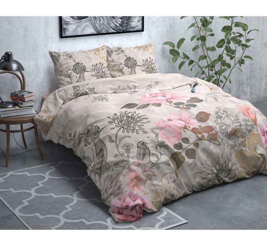 Forest Charm - Flanel - Taupe
