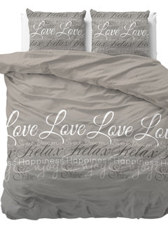 Sleeptime Love and Relax - Flanel - Taupe