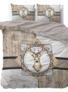 Dreamhouse Bedding Wood Deer - Taupe