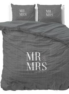 Dreamhouse Bedding Mr and Mrs Elegant - Antraciet
