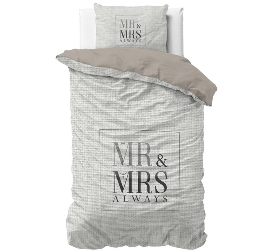 Mr and Mrs Elegant - Wit/Grijs