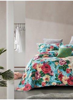 Dreamhouse Bedding Bedsprei - Brenda - Turquoise
