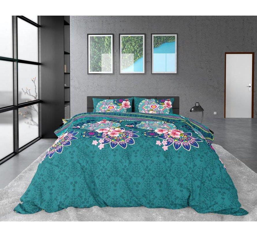 Lana - Flanel - Turquoise