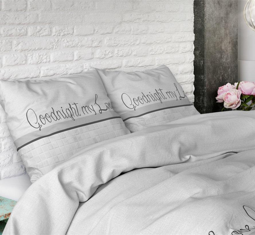 Goodnight my Love - Wit/Grijs