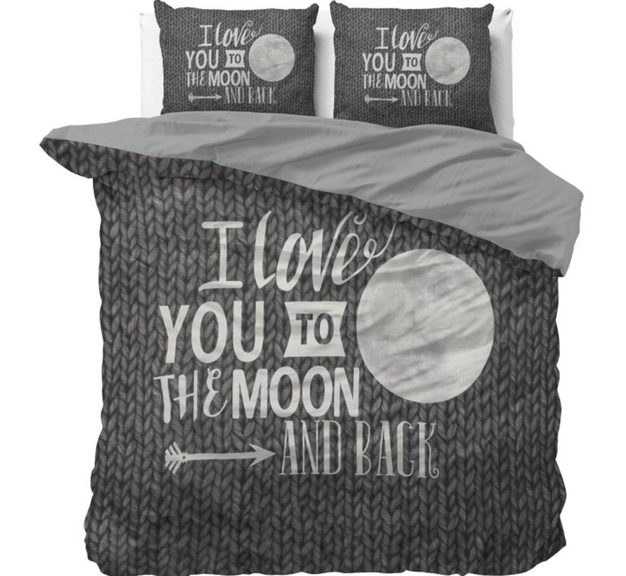 Moon and Back - Antraciet