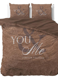 Dreamhouse Bedding Love for You and Me - Taupe
