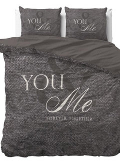 Dreamhouse Bedding Love for You and Me - Antraciet