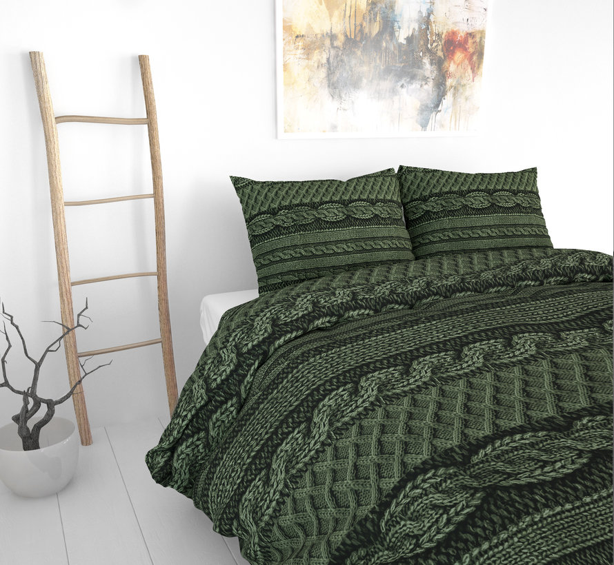Olive Knits - Groen