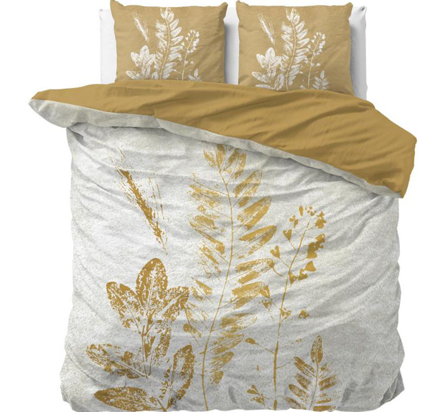 Gold Stripe - Creme/Goud
