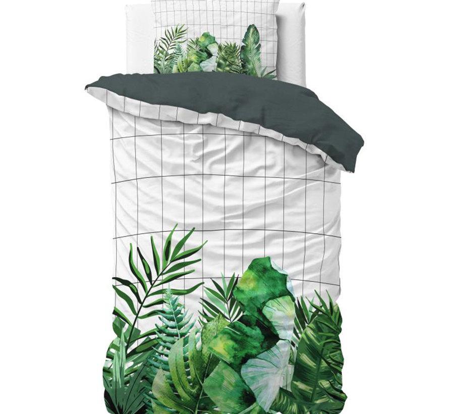 Botanic Book - Groen/Wit