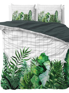 Sleeptime Botanic Book - Groen/Wit