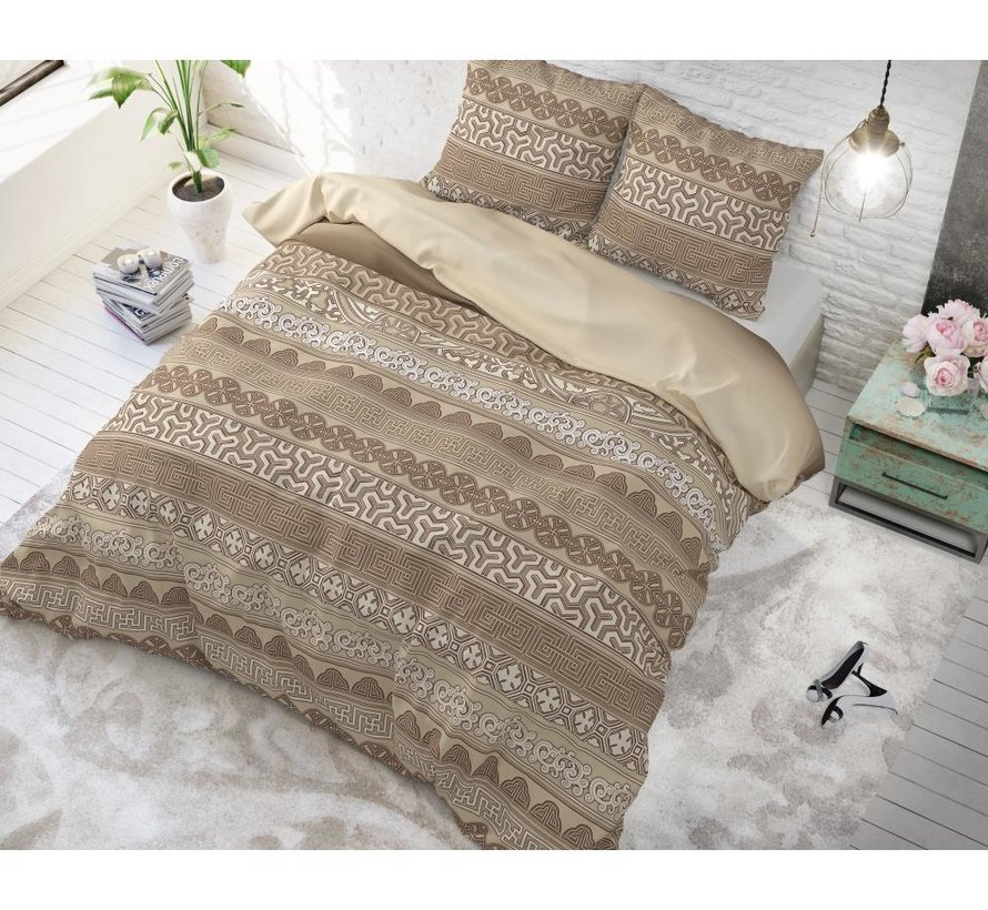 Asian Lace - Taupe