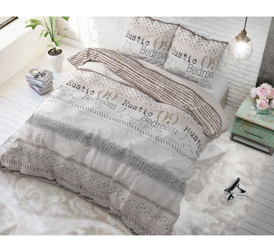 Rustic Stay - Taupe