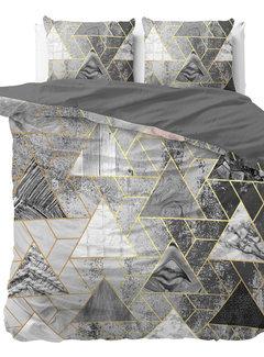 Dreamhouse Bedding Luxury Triangle - Grijs