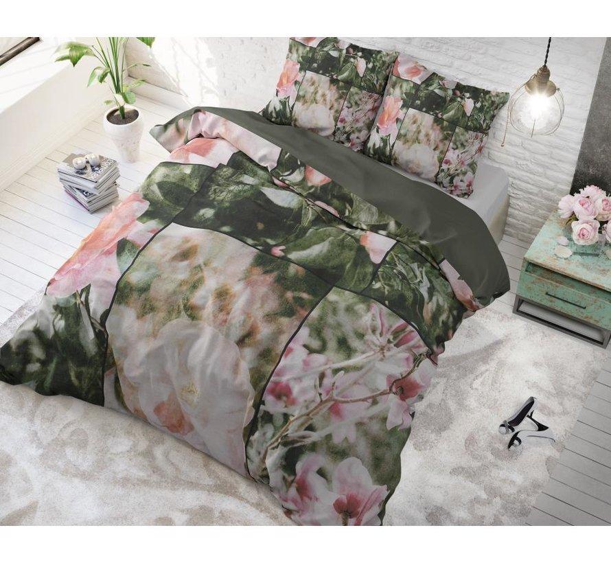 Flower Fashion Art - Groen